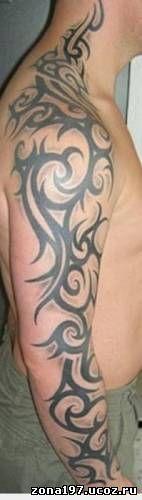 Кельтский узор фото тату на руке